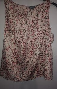 Kenneth Cole Reaction Pink Brown Top XL Plus